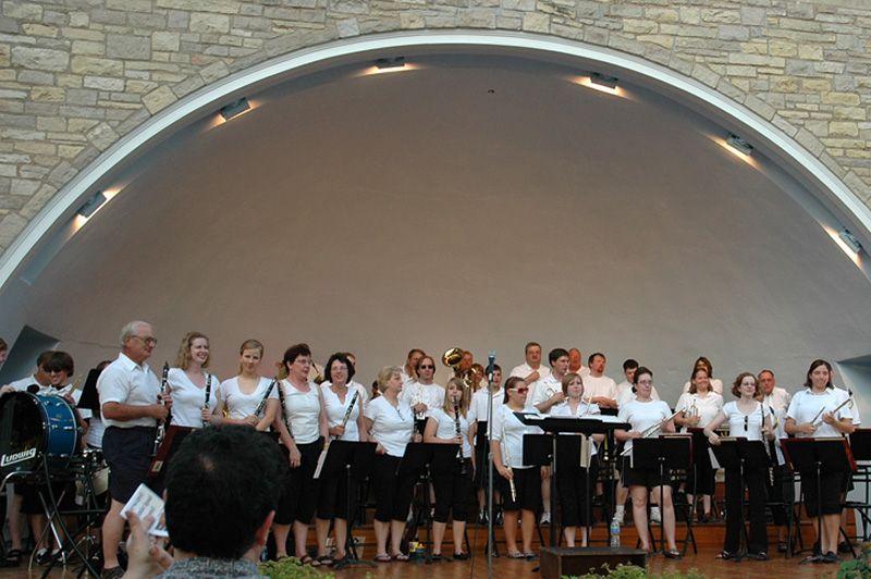 Seward bandshell concert finale