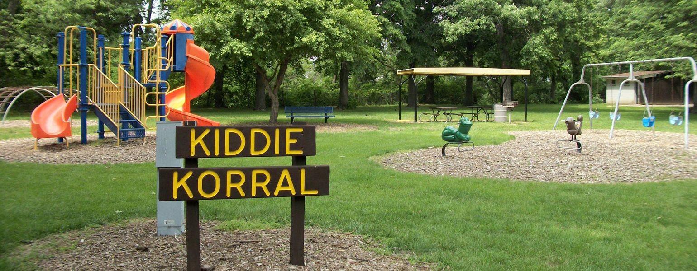 Kiddie Korral in Centennial Park - Seward, Nebraska