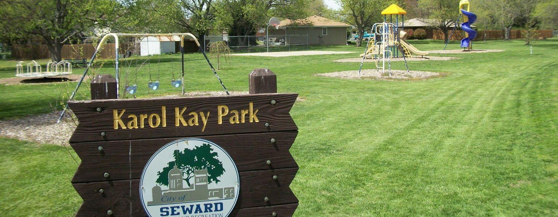 Karol Kay Park in Seward, Nebraska