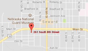 Seward County Justice Center - Pretrial Diversion Office Map Directions