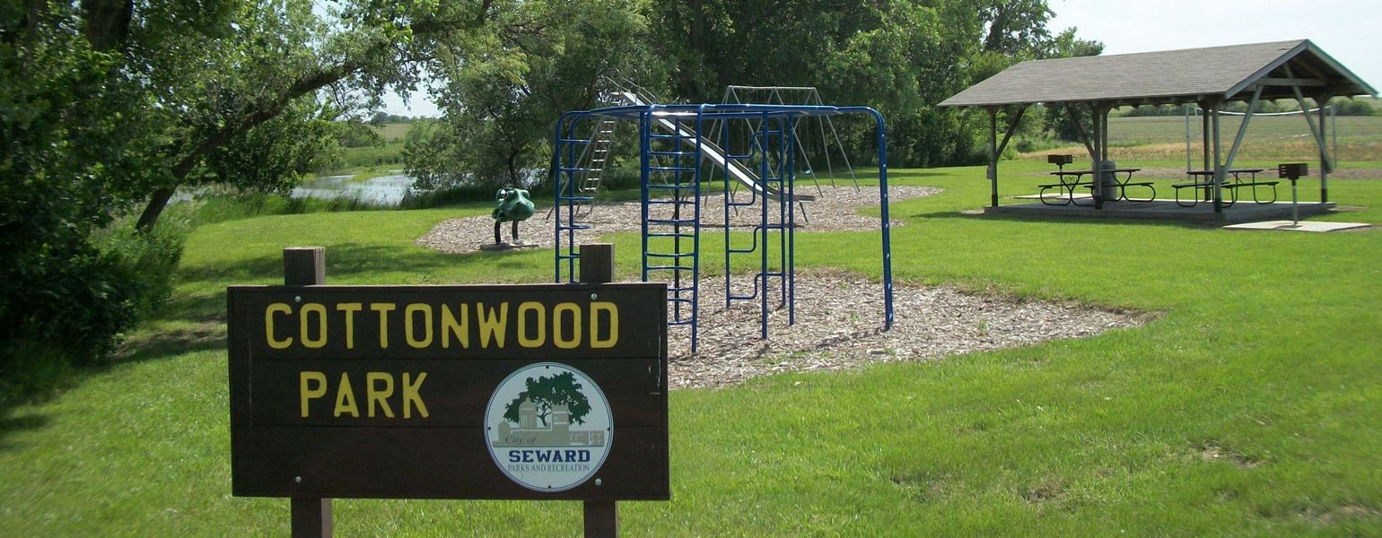 Cottonwood Park in Seward, Nebraska