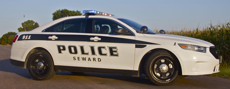 Seward Police Department vehicle