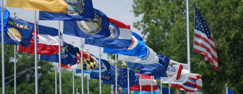 Parade of Flags - Seward, Nebraska