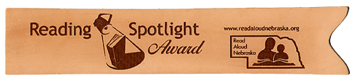 Reading Spotlight Award Bookmark